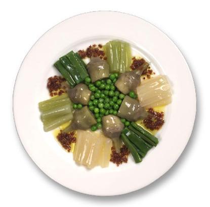 Receta de Surtido de verduras con Jamón Confeti